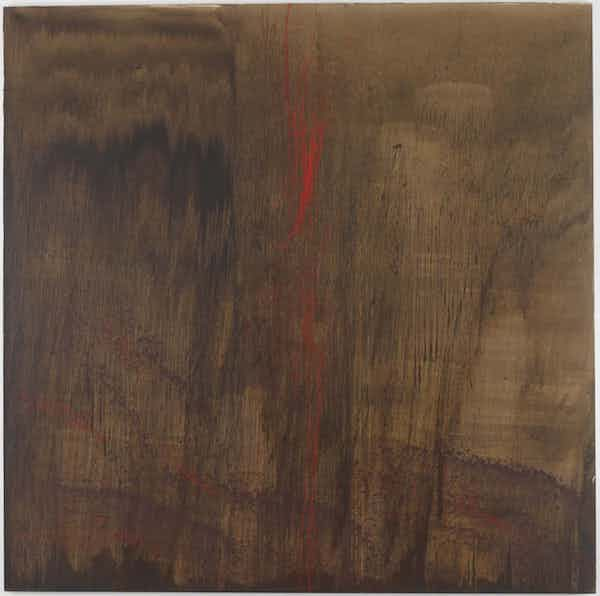 《September North China Sea (九月的北海)》,Pat Steir,(1994-95)